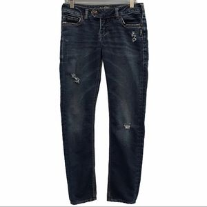 Silver Jeans Tuesday Joga low skinny size 28/L29